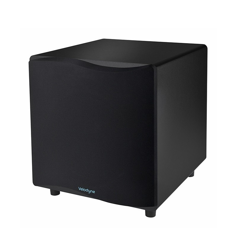 "Velodyne Wi-Q 10"" Wireless Subwoofer Black Vinyl - Demo kos"
