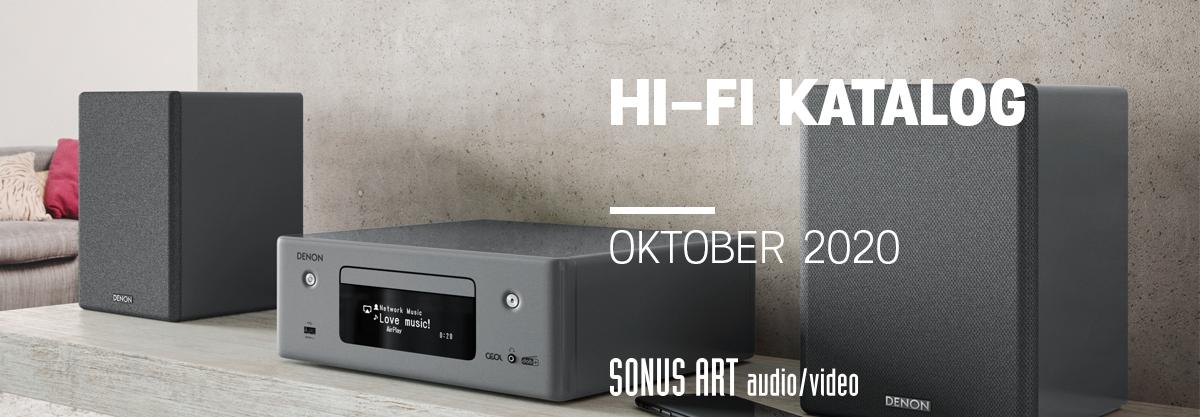 Sonus Art Katalog oktober 2020
